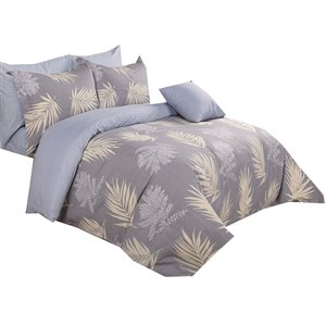 North Home Selina Queen Duvet Cover Set - 4-Piece
