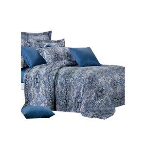 Ensemble de housse de couette Lauren de North Home pour très grand lit, 4 pièces
