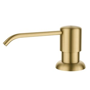 Kraus Boden Kitchen Soap and Lotion Dispenser - Brushed Brass