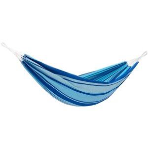 Hamac en coton Double Brazilian de Vivere, bleu