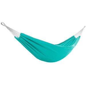 Vivere Brazilian Double Sunbrella Hammock - Turquoise