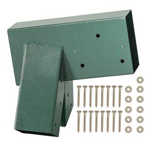 Swingan A-Frame Bracket - Green Powder-Coated