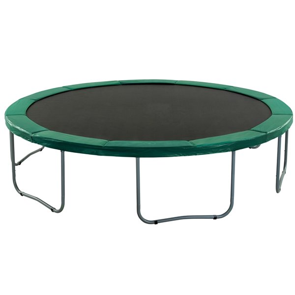Upper Bounce Super Trampoline Replacement Safety Pad - 12-ft - Green