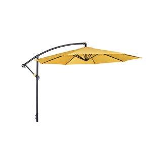 Henryka Cantilever Umbrella - 10-ft - Yellow