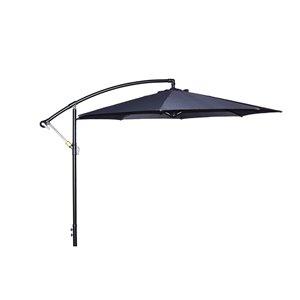 Henryka Cantilever Umbrella - 10-ft - Grey