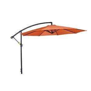 Henryka Cantilever Umbrella - 10-ft - Orange
