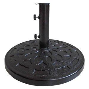 Henryka Umbrella Base - Metal - Black