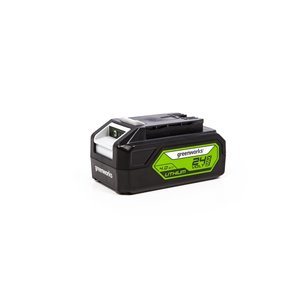Greenworks Rechargeable Lithium-Ion Battery - 24-Volt - 4 AH
