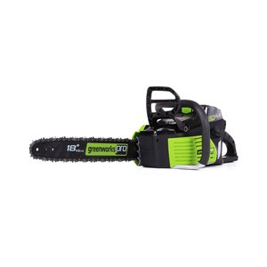 Greenworks Pro Cordless Chainsaw - 80-Volt - 18-in Bar Length