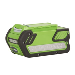 Greenworks Rechargeable Lithium-Ion Battery - 40-Volt - 4 AH