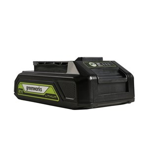 Greenworks Rechargeable Lithium-Ion Battery - 24-Volt - 2 AH
