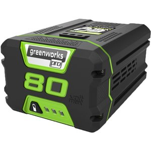 Greenworks Pro Rechargeable Lithium-Ion Battery - 80-Volt - 2 AH