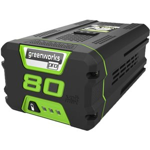 Greenworks Pro Rechargeable Lithium-Ion Battery - 80-Volt - 5 AH