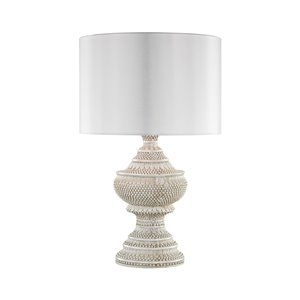 Elk Home Kokopo Outdoor Table Lamp with White Shade