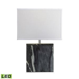 Elk Home Marble Square LED Table Lamp - Grey