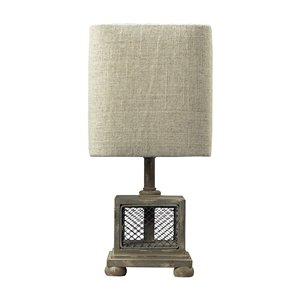 Elk Home Delambre Mini Table Lamp -  Montauk Grey