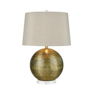 Elk Home Punkture Table Lamp - White