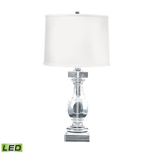 Elk Home Crystal Balustrade LED Table Lamp - White