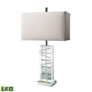 Elk Home Avalon LED Table Lamp - Clear Crystal/Chrome