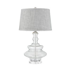 Elk Home Upwell Current Table Lamp - Grey