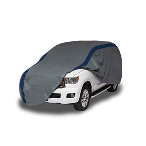 Duck Covers Weather Defender SUV Cover - 15.5 ft. - Black