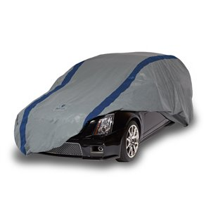 Duck Covers Weather Defender Station Wagon Cover - 15 ft. - Black