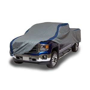Duck Covers Weather Defender Pickup Truck Cover - 16.5 ft. - Black