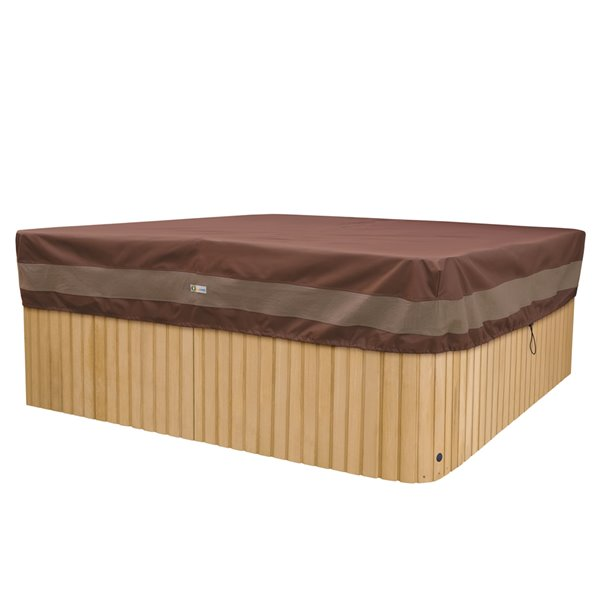 Duck Covers Ultimate Rectangle Hot Tub Cover - 94-in x  84-in