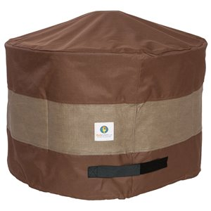 Duck Covers Ultimate Round Fire Pit Cover - 50-in - Brown