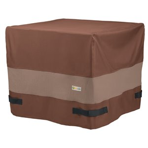 Duck Covers Ultimate Square Air Conditioner Cover - 32 cm x 30 cm - Brown/Tan