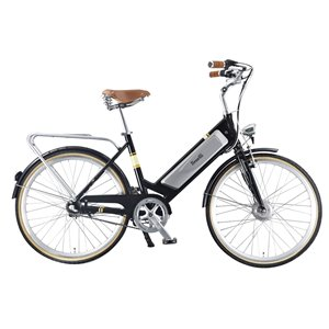 Benelli Classica Retro Black 29-in Unisex Electric Bike with EV Motor