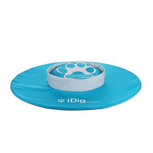 Jouet pour chien Idig Go, blanc et bleu