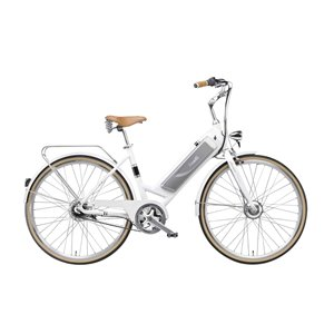 Benelli Classica Retro White 29-in Unisex Electric Bike with EV Motor