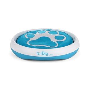Jouet pour chien Idig Stay, blanc et bleu