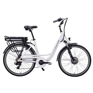 Benelli Mio 26-in White Unisex Electric Bike with EV Motor
