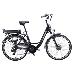 Benelli Mio 26-in Black Unisex Electric Bike with EV Motor