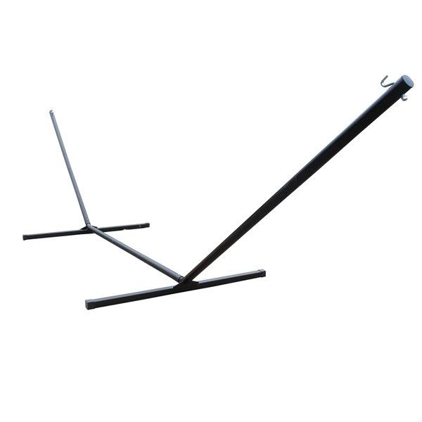 Black Support à hamac en acier de Vivere, 15 pi, noir