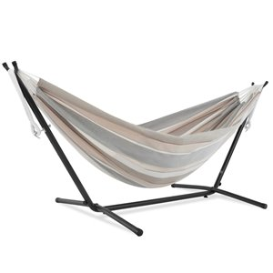Hamac Sunbrella de Vivere avec support, Dove