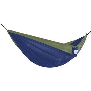 Hamac parachute double en nylon de Vivere, Navy/Olive