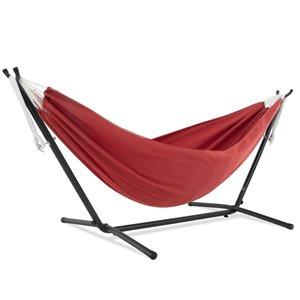 Hamac Sunbrella de Vivere avec support, Crimson
