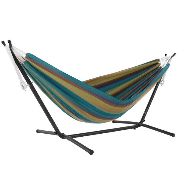 Hamac Sunbrella de Vivere avec support, Lagoon
