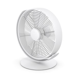 Stadler Form Tim USB Table Fan - White