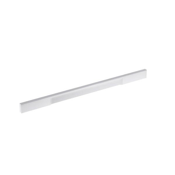 Poignée d'armoire Viareggio de Richlieu contemporaine, 320 mm, blanc