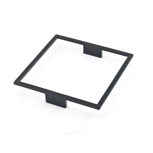 Poignée d'armoire Fusion de Richlieu contemporaine, 160 mm, noir mat
