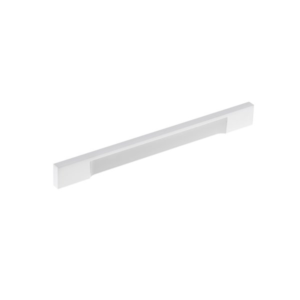 Poignée d'armoire Viareggio de Richlieu contemporaine, 192 mm, blanc