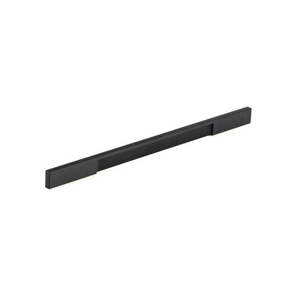 Poignée d'armoire Viareggio de Richlieu contemporaine, 320 mm, noir brossé