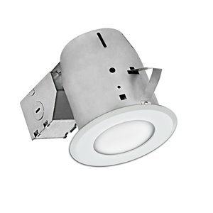 Nadair LED Swivel Recessed Shower Lights - 4-in