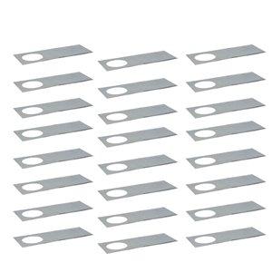 Nadair Adjustable Mounting Plate for Ultra Slim Serie - 24 Pack - Steel