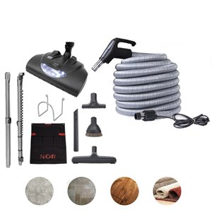 Nadair Central Vacuum Electric Attachment Kit - 30 ft.
