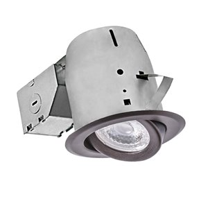 Nadair LED Swivel Recessed Lights - 4-in